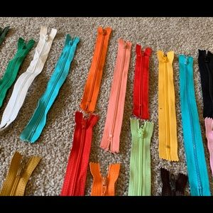 """Office - 34 new zippers 5"""" - 18"""" for sewing or crafts"""